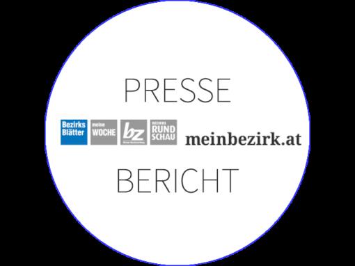 PRESSEBERICHT Bezirksblätter